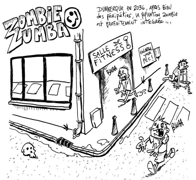 Zombie Zumba extrait Lobotozine 13 02