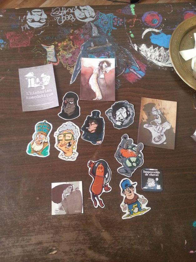 Stickers goodies transparent Mathieu Vast