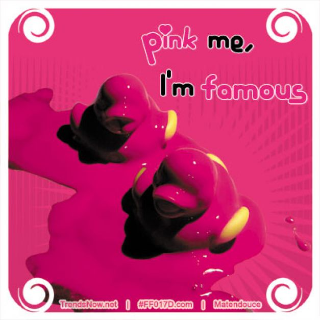 Pink me I'm famous canard