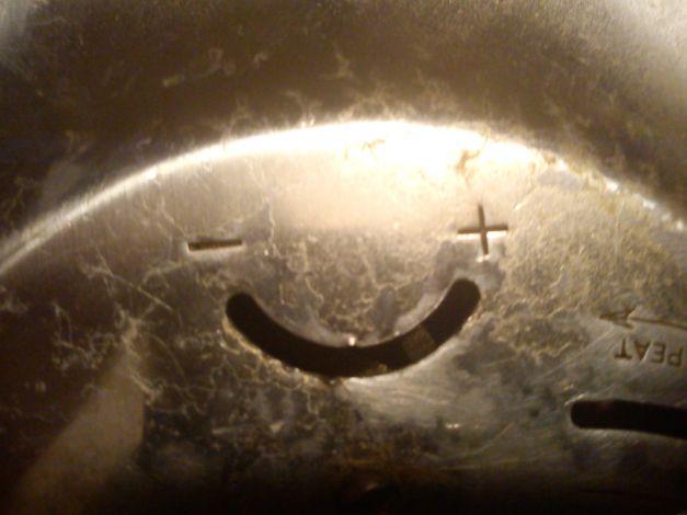 Réveil horloge happy face