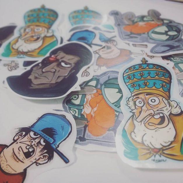 Stickers goodies transparent 02