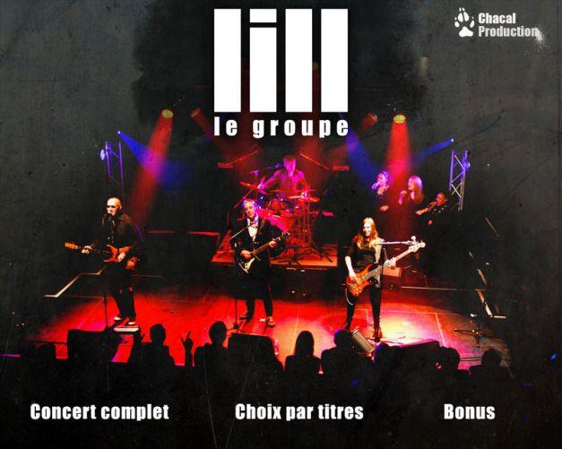 DVD Lill le groupe menu