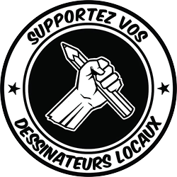 Supportez vos dessinateurs locaux